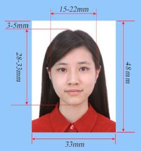 Foto visa China requisitos